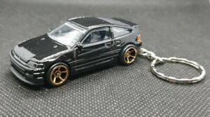 Hotwheels-Honda-CRX-Llavero-Automovil-De-Fundicion