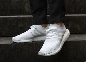 Details about ADIDAS ORIGINALS SWIFT RUN PK PRIMEKNIT WHITE MEN'S RUNNING SHOES CG2892
