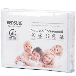 Mattress Encasement Full Size Mattress Cover Bed Bug Protector