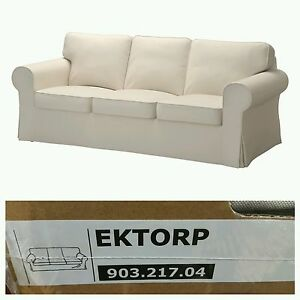 Image Is Loading IKEA EKTORP Sofa Slipcover Cover 3 Seat Lofallet