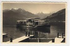 AK Zell am See, Zeller See, Motorboot, Kitzsteinhorn