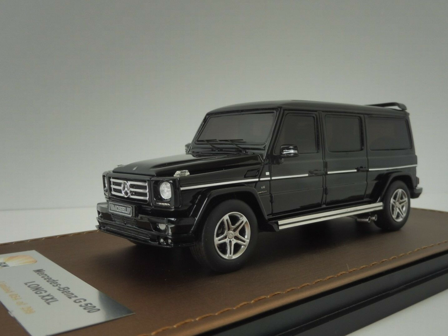 Mercedes-Benz G500 Long XXL Nero 1/43 Glm -43203703 Classe-G G-Class Mercedes