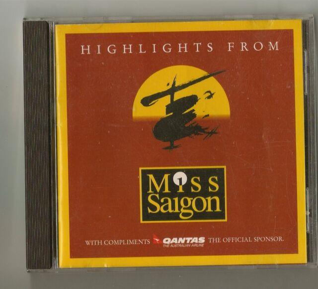 Highlights From Miss Saigon Promo CD