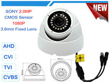 1200 TVL 1080P 2 MP Day Night Vision CCTV Dome Security Camera White WDR White
