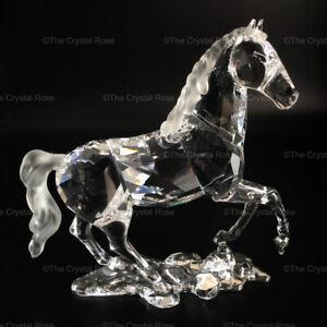 RARE-Retired-Swarovski-Crystal-Stallion-Horse-898508-Mint-Boxed