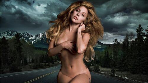"Lady GAGA America hot Singer 24/""x13/"" Poster  006"