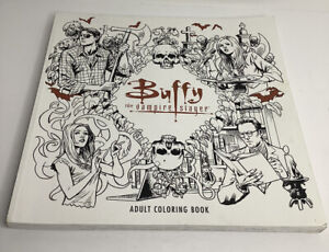 Buffy The Vampire Slayer Adult Coloring Book CLEAN