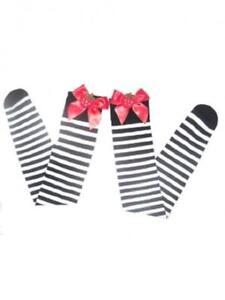 9f9931000eae4 Image is loading Women-Over-Knee-Christmas-Stockings-Sexy-Hosiery-Black-
