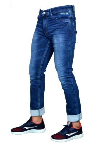 Slim Italian Design FREE RETURNS! BURK HEDGES by SEGA Regular Fit Men/'s Jeans