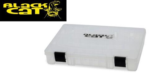 Black Cat XL Tackle Keeper 36x22x8cm Angelbox für Zubehör Tacklebox für Köder