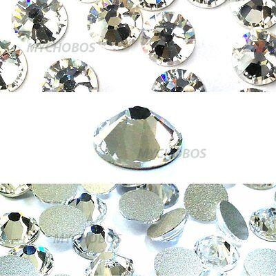 Crystal (001) Swarovski 2058 5ss Flatbacks No-Hotfix Rhinestones 1.8mm ss5 clear