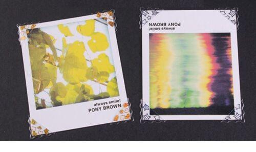 78 Photo Album Picture Scrapbook Corner Sticker Self Adhesive 5 Colours