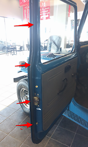 OEM Toyota Land Cruiser 40 Series BJ40 FJ40 RH Side Panel Rubber Weatherstrip