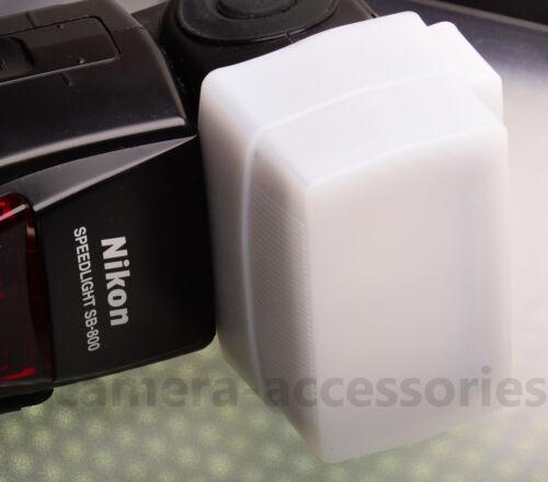 Difusor de flash de la cúpula de blanco para Yongnuo YN-560 YN-600EX Sony HVL-F58AM F60M F43M