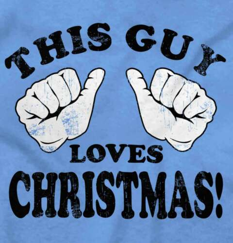 This Guy Love Christmas Funny Shirt Cool Gift Cute Santa Tree T Shirt