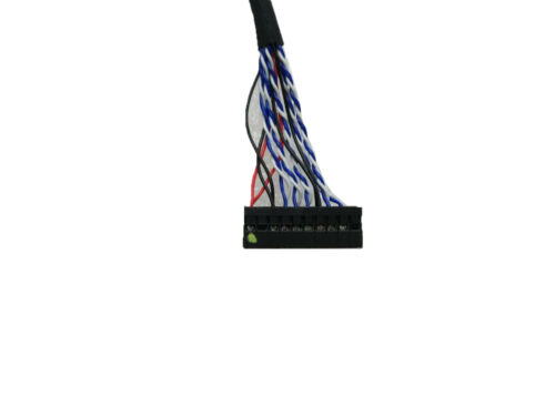 40cm//400mm DF14 20Pin single 1ch 8bit LVDS Cable for G121SN01 G150XG03 M150XN07