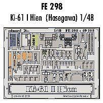 Eduard 1//48 Kawasaki Ki-61 I Hien Pre-painted for Hasegawa # FE298
