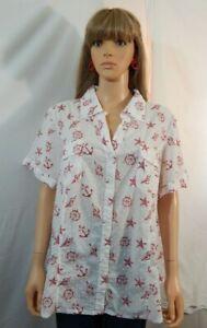 NWT-NEW-Women-039-s-Karen-Scott-Size-3X-26-28-Top-Shirt-Blouse-Casual-Work-Clothes