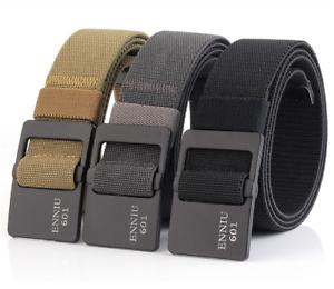 "47*1.49/"" ENNIU Male Tactical Belt Military Nylon Belt Outdoor Training Strap Hot"