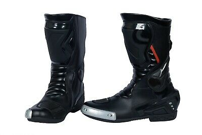 mens touring track sports riding Expand  motorcycle boots racing