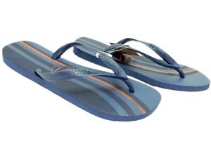 3b7896ba9 Havaianas Men s Top Basic Flip Flops Vertical Stripe Navy Blue Size ...