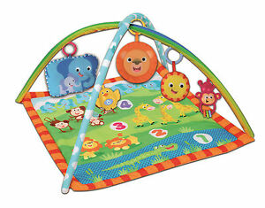 Bontempi-Square-Jungle-Play-Mat-Musical-Sound-Baby-Soft-Activity-Gym-Animals-Toy