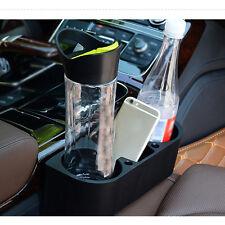 1x Car Auto Accessories Seat Seam Storage Box Bag Phone Holder Organizer Black