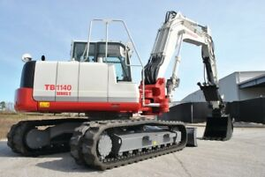 Takeuchi-TB1140-Mini-Digger-Parts-Manual