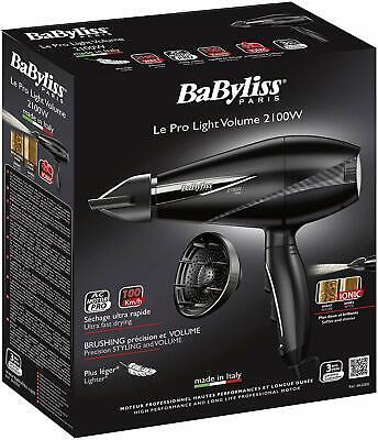 BaByliss Paris 6610DE Sèche cheveux Pro Light Volume 2100 | eBay