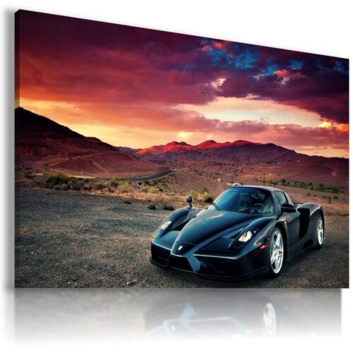 FERRARI ENZO DARK BLUE Sport Cars Large Wall Art Canvas Picture AU215 MATAGA