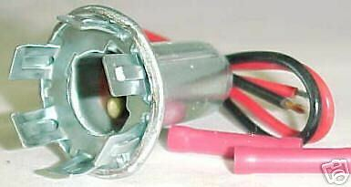 Calterm Chevy Chrysler Ford Stop Turn Tail Light Socket 8536 PS-36 SET OF 2