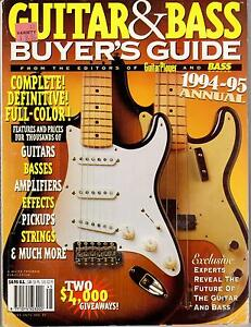 GUITAR-amp-BASS-BUYERS-GUIDE-1994-95-ANNUAL