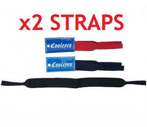 2-x-Neoprene-head-straps-for-sunglasses-glasses-great-for-sport