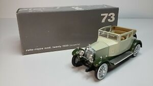 1/43 Rio 73 Rolls Royce Twenty Cabriolet
