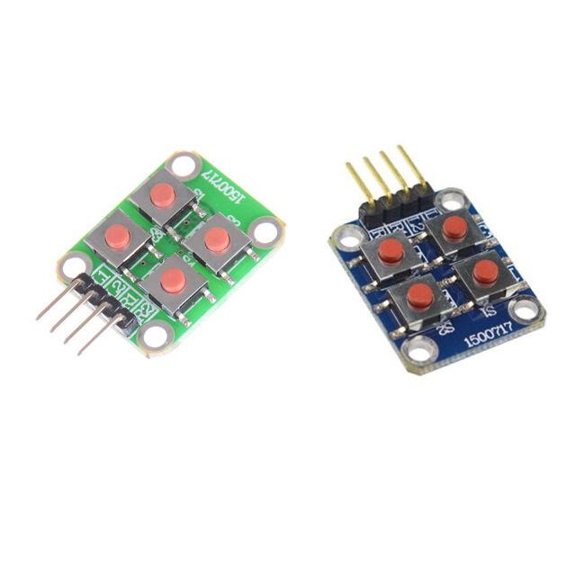 Matrix 4 Keyboard Board Module 4 Button Tactile Switch For Arduino