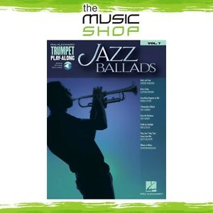 New-Jazz-Ballads-Trumpet-Play-Along-Music-Book-amp-OLA-Volume-7
