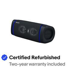 Sony SRS-XB33 EXTRA BASS Wireless Portable Bluetooth Speaker - SRSXB33/B - Black