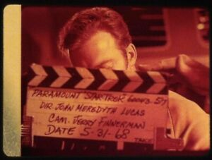 Star-Trek-TOS-35mm-Film-Clip-Slide-Elaan-Troyius-Kirk-Bridge-Clapper-Board-125