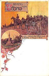 Cartolina-Postcard-Como-Distretto-Militare-NVG
