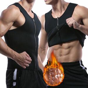Men-039-s-Waist-Trainer-Vest-Weight-Loss-Sauna-Sweat-Belt-Thermal-Girdle-Body-Shaper