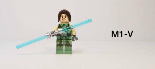Lego Star Wars Satele Shan Minifigure 9497 Old Republic Dual Face Dual Saber