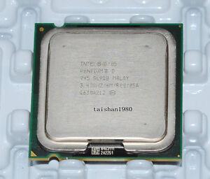 Intel-Pentium-D-945-3-4-GHz-LGA-775-CPU-SL9QQ-4M-800-Presler-Dual-Core-Processor