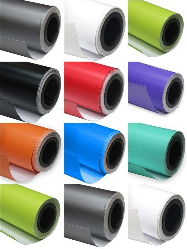 MATTE MATT FINISH CAR VINYL WRAP IN VARIOUS COLOURS AND GrößeS - AIR BUBBLE FREE