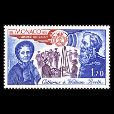 Monaco 1978 - 100th Anniv of the Salvation Army Organization - Sc 1129 MNH