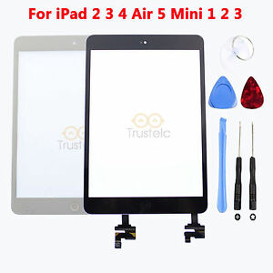 Touch-Screen-Glass-Digitizer-Assembly-Replacement-for-iPad-2-3-4-Air-5-Mini-2-3