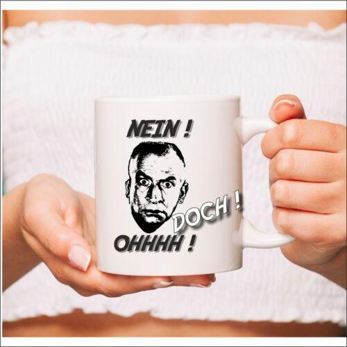 Louis de Funes Doch Nein Becher Tasse Witzig NEU Geschenk Ohh