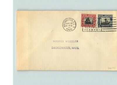 Aggressiv Norse American, Beide Rot Und Blau Briefmarken, #620 & 621 Auf Erster Ausgabe Im Sommer KüHl Und Im Winter Warm