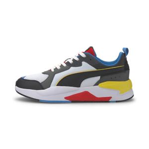 Puma-X-Ray-Sneaker-Uomo-372602-03-Puma-White-Puma-Black-Dark-Shadow-High-Risk