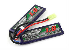 New Turnigy nano-tech 1800mah 2S 20C 40C 7.4V Lipo Battery Airsoft Pack US