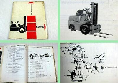Clark dy2024ex chariots élévateurs catalogue de pièces de rechange parts list Pièce De Rechange Liste catalog